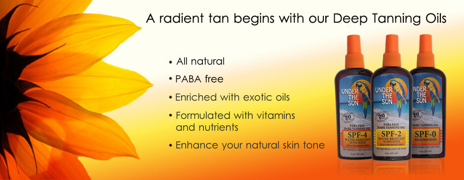 Tanning Lotion - Under The Sun Tanning Products